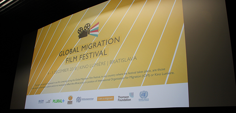IOM - Photo from the Global Migration Film Festival 2018 in Slovakia