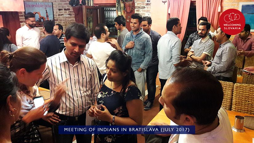 MIC IOM - Welcoming Slovakia - Meeting of Indians in Bratislava (July 2017)