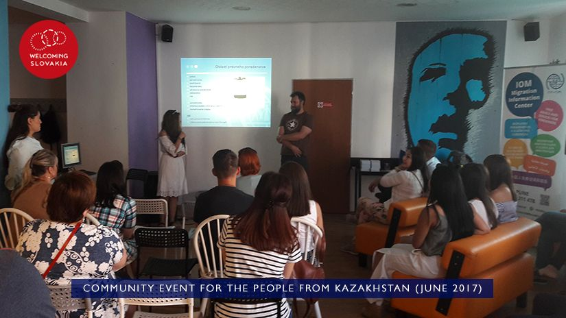 MIC IOM - Welcoming Slovakia - Community event for the people from Kazakhstan (June 2017)