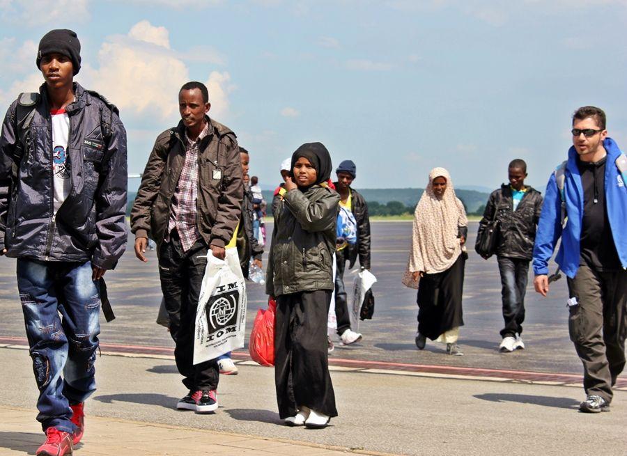 IOM - Presídľovanie utečencov - Príbeh klientov IOM - Som odhodlaný začať odznova a pomáhať druhým ľuďom